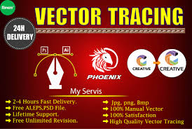 Do vector tracing, convert, recreate any image or logo professionally by  Designerkobir20