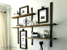 industrial style bookcase diy strong tie wall mounted shelves sawdust 2 stitches shelving with 3 bookcases