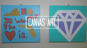 Diy Canvas Art Art Diy Canvas Art Ideas
