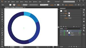 Create Pie Chart In Illustrator Cc How Do I Make An Incomplete Circle Stroke For A Donut Chart