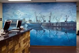 mural for marijuana dispensary port of oakland  on hand painted wall murals artist with marijuana dispensary mural port of oakland wall art