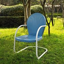 metal lawn chairs. Brilliant Metal Crosley Furniture Griffith Metal Chair Throughout Lawn Chairs M