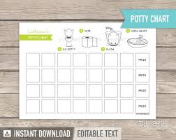 Potty Training Charts Pdf Potty Training Chart Toddler Rewards Chart Instant Download