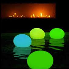 balloon glow stick pool lantern