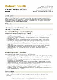 Agile Business Analyst Resumes Business Analyst Project Manager Resume Samples Qwikresume