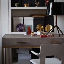 ideas for small home office. simple home elegant home office with a leather desk and highgloss table lamp for ideas small home office d