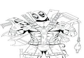 Free Printable Deadpool Coloring Pages Dpalaw