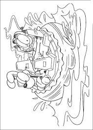 Kapitein Garfield Kleurplaat Gratis Kleurplaten Printen