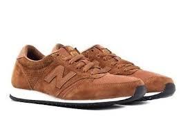 New Balance <b>420</b> Mens <b>70s Running U420PTB</b> Trainers Brown ...