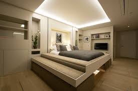 Studio Apartment Bed Modular Studio Apartment With Elevator Bed And Disappearing Dining
