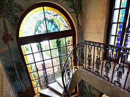 stunning design home lead glass windows comes with curve shape glass windows and stained glass windows