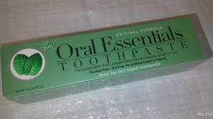 Oral Essentials, <b>Зубная паста с цинком</b>, оригинальная формула ...