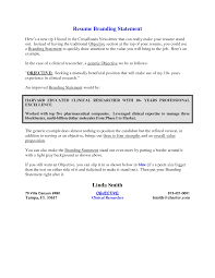 Objective Section Of Resume Resume For Your Job Application