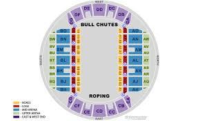 Ms Coliseum Jackson Seating Chart Mississippi Coliseum Rodeo Configuration Mississippi