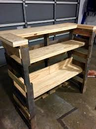 diy pallet patio bar. Full Size Of Home Design:delightful Pallet Outdoor Bar Diy With Custom Built In Shelves Large Patio
