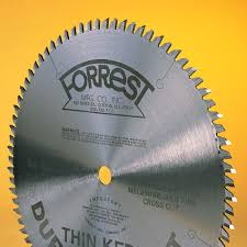 forrest blades. duraline saw blades for laminates, acrylics, wood and more :: 10\ forrest