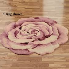 roselinn round rug rose touch to zoom