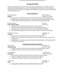 Resume Additional Skills In Resume