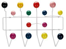 10 Hook Coat Rack Interesting Furniture Eames Coat Rack 32 Wall Hooks To Organize Your Space In
