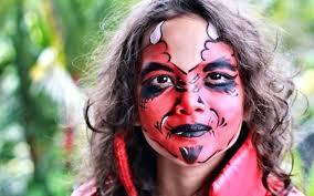 devil face painting red devil face paint evil clown face paint designs devil face