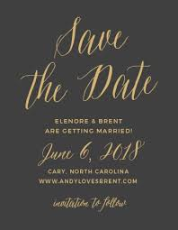 Print Save The Date Cards No Photo Save The Date Cards Match Your Color Style Free