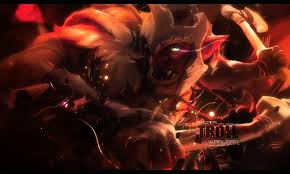jah rakal the troll warlord by ryotahazama on deviantart
