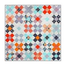 Cross Quilt Pattern Extraordinary Emma Jean Jansen's King's Cross Quilt Pattern Frangipani Fabrics