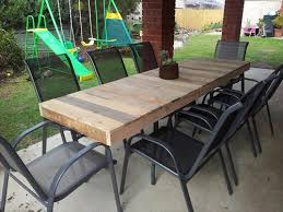 Diy Pallet Patio Table Pallet Patio Furniture Easy Making Of
