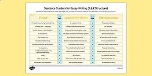 good sentence starters for essays how to write a synopsis of an good sentence starters for essays