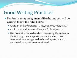 CPE sample writings  HOW TO WRITE AN ESSAY A table in a research paper