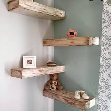 floating shelves designs 16 diy corner shelf designs to use every inch the space