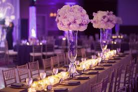 Top 19 Wedding Reception Decorations With Photos Purple Wedding