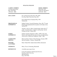 Sample Acting Resume With No Experience Resume Templates With No Experience Photos Bartending Acting 17