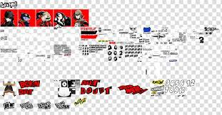 Persona 5 Playstation 3 Video Game Sprite Playstation