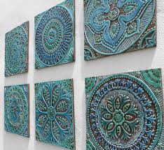 decorative wall tiles. ARTS--Morocco Is Famous For Their Pottery And Ceramic Tiles. The Common Mandala Pattern Based Off Of These Prints. Artisans In Morocco Commonly Make Decorative Wall Tiles R