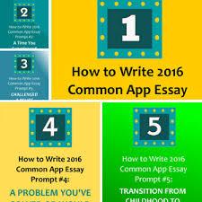 Common app essay prompt   examples   Uwspace thesis