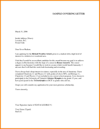 Job Application Letter Format In Word Formal Cover Report Template