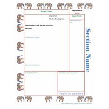 Publisher Cookbook Template Rose Moors Publisher Cookbook Template Recipes To Cook