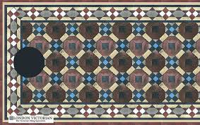octagon mosaic tile design