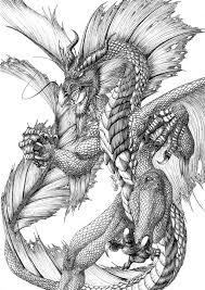 Dragon In 2019 Draken Draken Tekeningen Kleurplaten Japanse Draak
