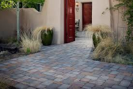 using concrete pavers on a slope
