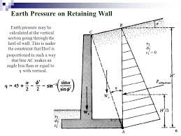 Small Picture Gravity Wall Design 4 Optimum Design Of Semi Gravity Retaining