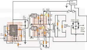 smps welding inverter circuit electronic circuit projects smps welding inverter circuit