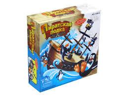 <b>Настольная игра</b> Баланс Пиратская лодка <b>JunFa</b> 1240-2