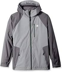 Champion Mens Technical Ripstop 3 In 1 System With Sweater Fleece Inner Shell Jacket