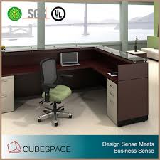 modern office furniture reception desk.  Office L Shape Modern Office Furniture Reception Desk With T