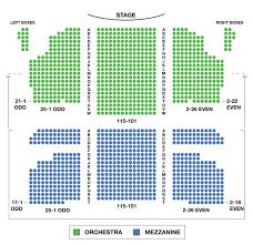 Al Hirschfeld Theatre Seating Chart Seat Info Tickpick