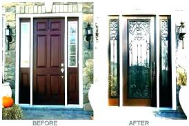 front door with one sidelight unique entry doors sidelights and transom windows fiberglass elliptical