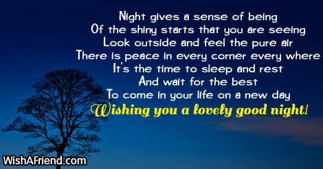 best good night messages to a best friend