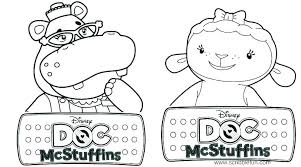 Printable Doc Mcstuffins Coloring Pages Coloring Pages Of Doc